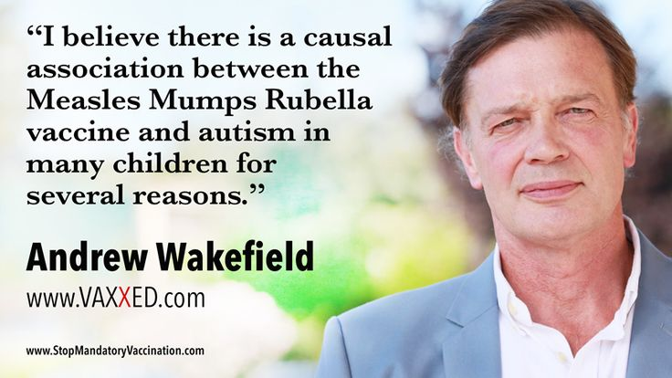 VIDEO: Dr. Andrew Wakefield shares how and why there is a causal association between the MMR Vaccine (Mumps Measles Rubella Vaccine) and Autism.