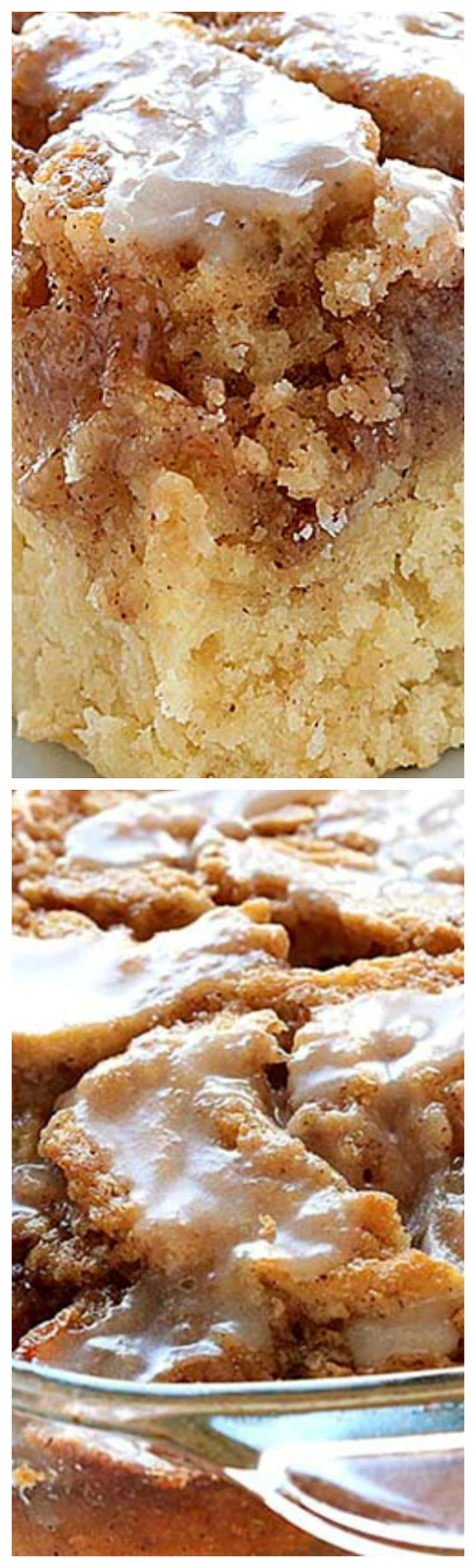 Easy Cinnamon Roll Coffee Cake ~ Simple and quick recipe for delicious, homemade coffee cake from scratch, with ingredients that you already have in pantry.