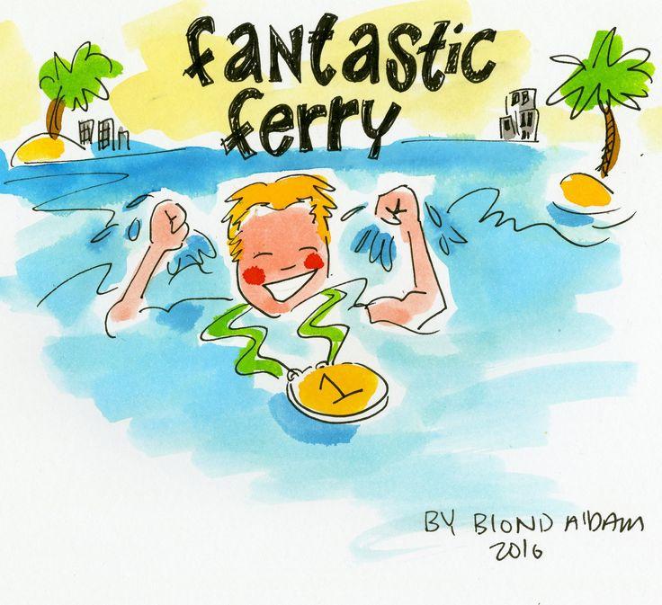 Fantastic Ferry! Olymische Spelen Rio 2016 by Blond Amsterdam