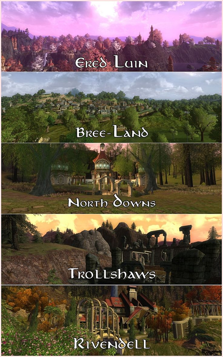 levelling path for elves lord of the rings online