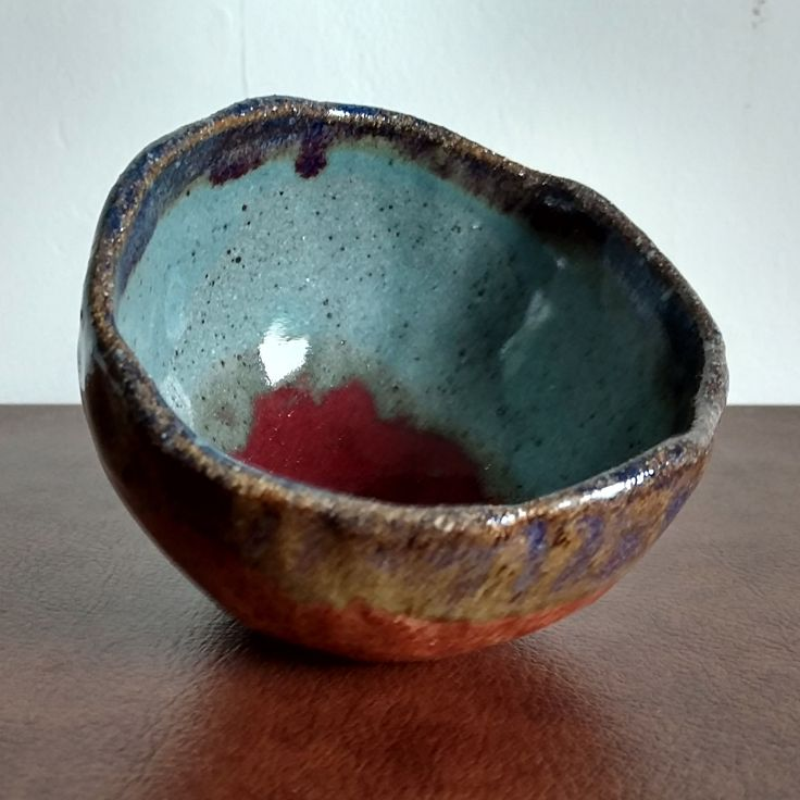 Handmade Small Bowl - Magma Chamber