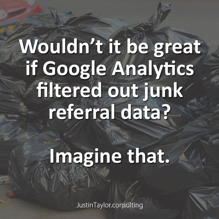 Google Analytics is recording a lot of junk referral data at present and so far Google has been unable to respond. Garbage data is worse than no data because it is misleading.