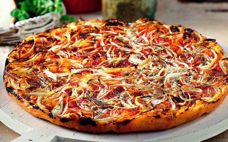 Recipes for Lent: The Greek Pizza that's Also Vegan