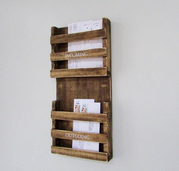 Mail Organizer Mail Sorter Mailbox Mail by SweetBellaStationery