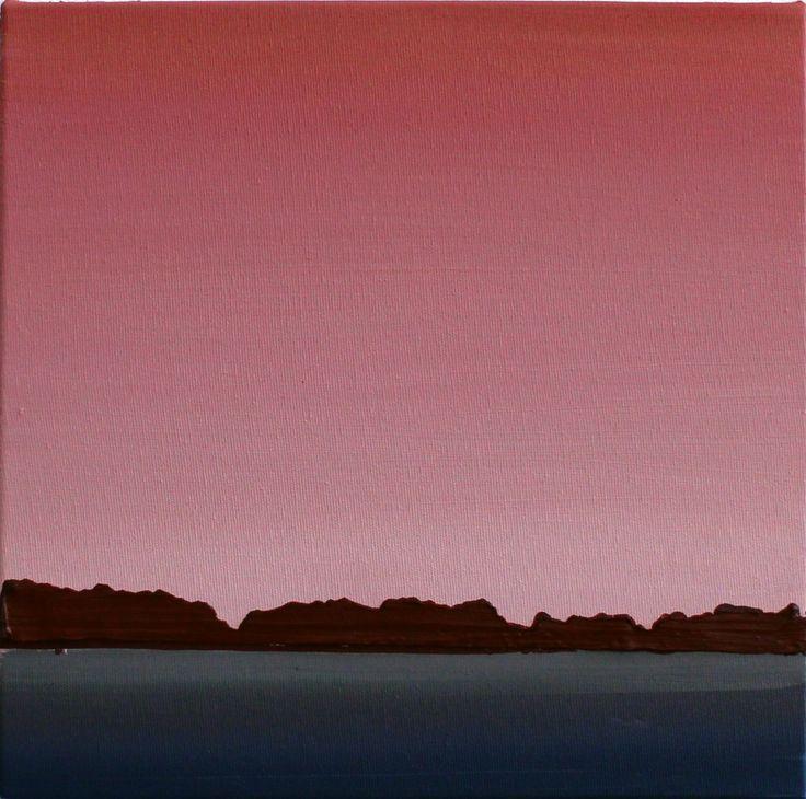 Rafael Zavagli - Nota Para Uma Paisagem 2, 2015 / óleo sobre tela / 25,5 x 25,5 cm