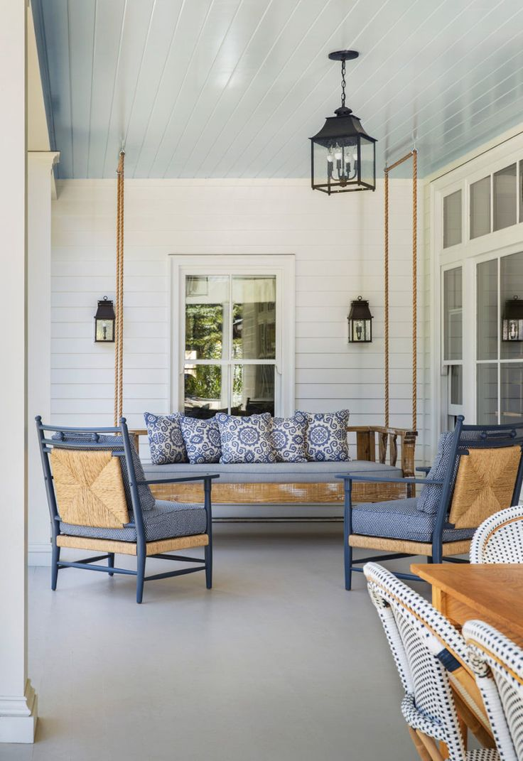 porch swing | Tim Barber Ltd.