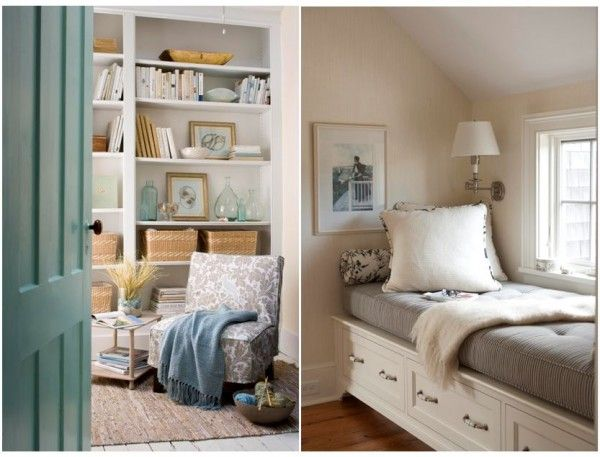 21 best images about for the home on pinterest vintage for Cozy reading room design ideas
