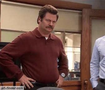 Ron Swanson – No | Gif Finder – Find and Share funny animated gifs