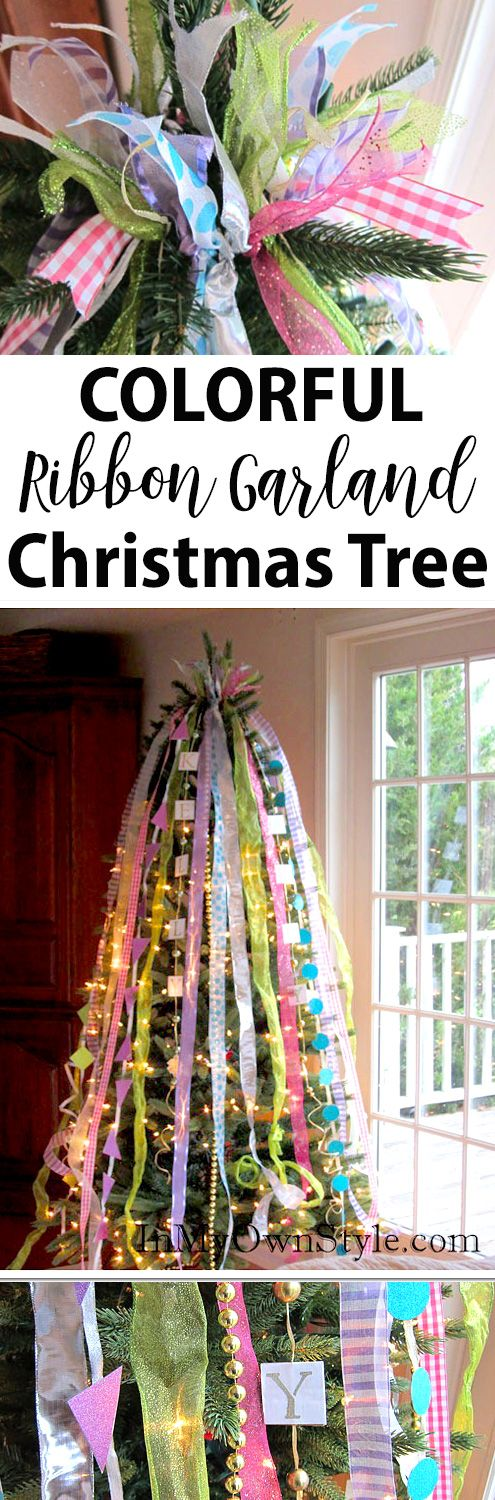 17 best images about christmas decorating ideas on How to hang garland on a christmas tree