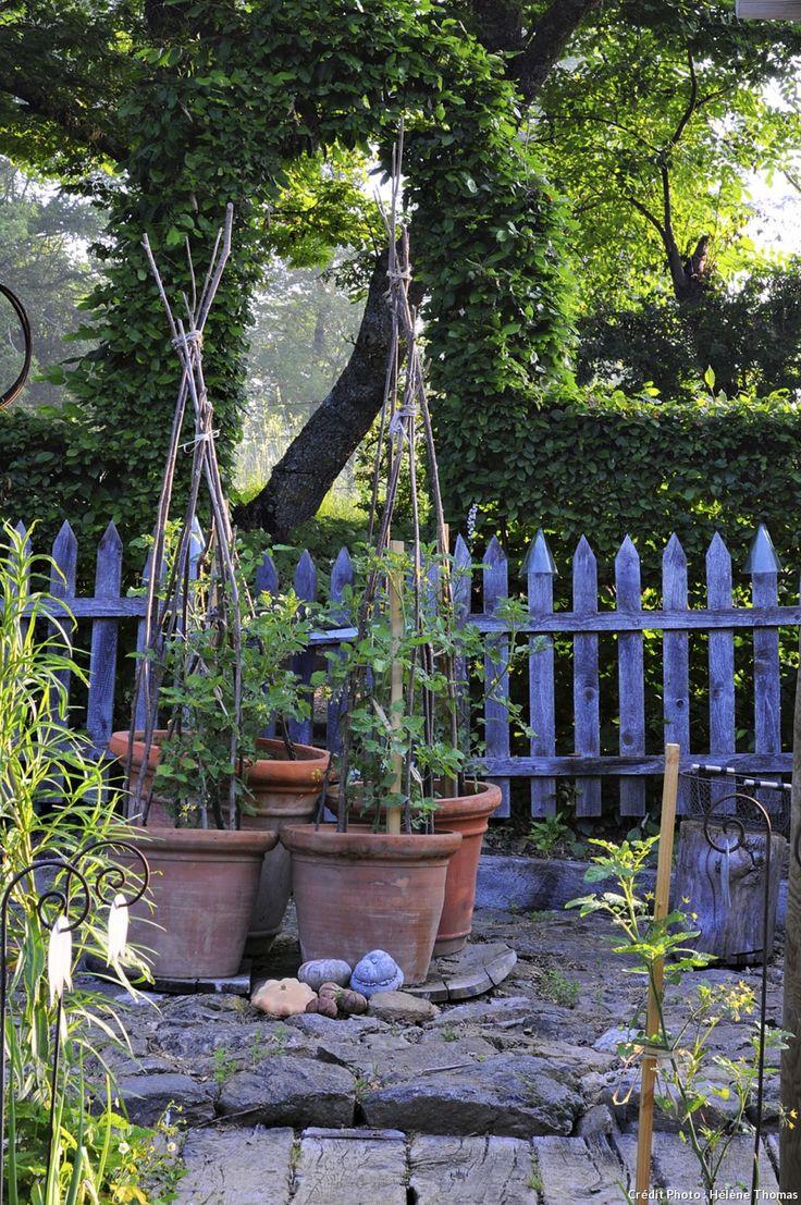 17 meilleures id es propos de cl tures de la campagne for Barriere deco jardin