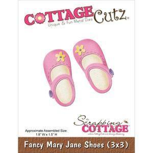 Wykrojnik CottageCutz - Buciku Mary Jane