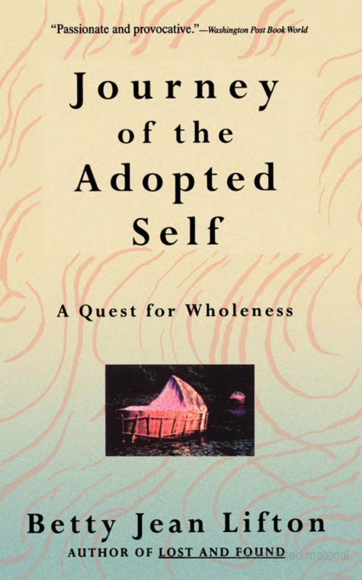 Journey of the Adopted Self: A Quest for Wholeness (1994), by Betty Jean Lifton
