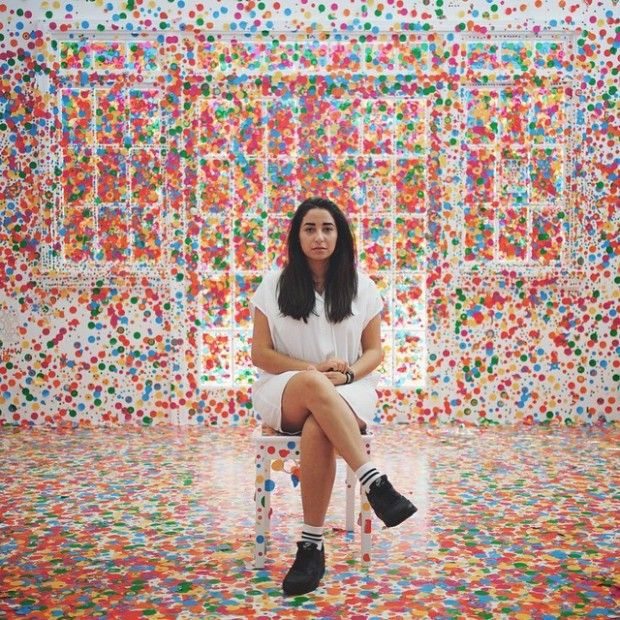 The Obliteration Room par Yayoi Kusama - Journal du Design