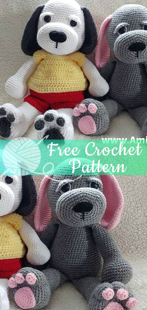 Cuddle Me Puppy [CROCHET FREE PATTERNS] – All About Crochet