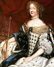 Marie-Thérèse of Austria, Queen of France (1638-1683), 17th C, French school