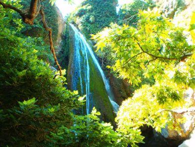 Wasserfalle-auf-Kreta