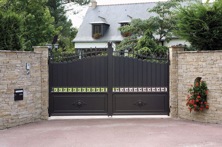 1000 id es sur le th me portail aluminium sur pinterest for Prix des portails