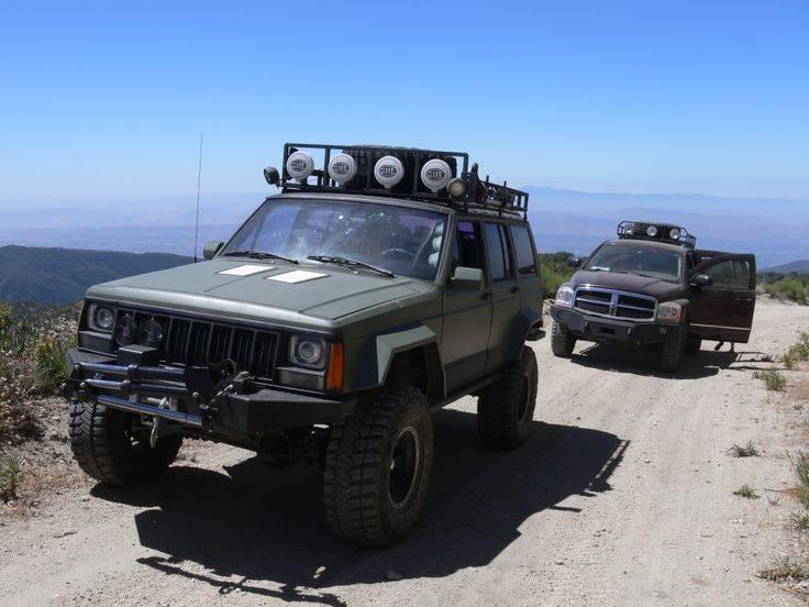 roof rack or rear bumper for spare tire?? - Jeep Cherokee Forum