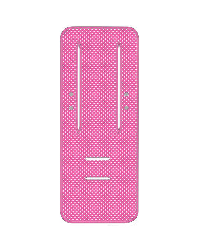 Pram liner - Pink Spot