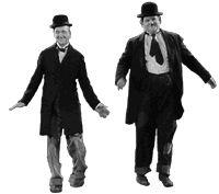 Roque Vega - cuentos: Laurel & Hardy