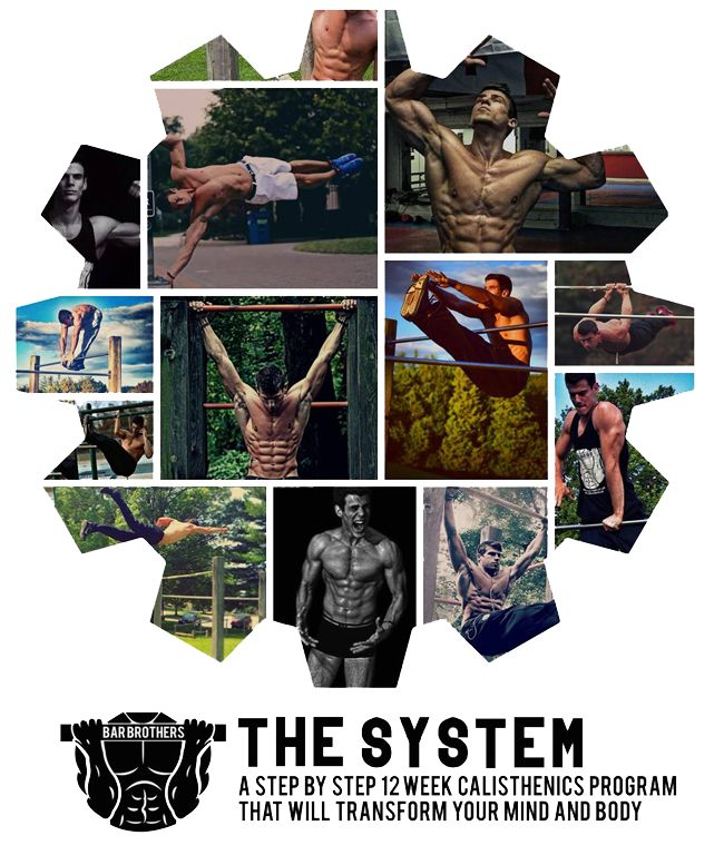 Bar Brothers - The System - Go Hard Or Go Home!    Get Bar Brothers 12-Week calisthenics system for transforming your body And mind.