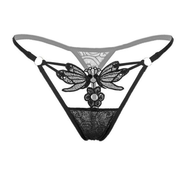 Tangas Women Sexy 2017 Lingerie Low Waist Lace Thongs Panty G String Sexy Bragas Women Underwear Culotte Femme 5Colors #427