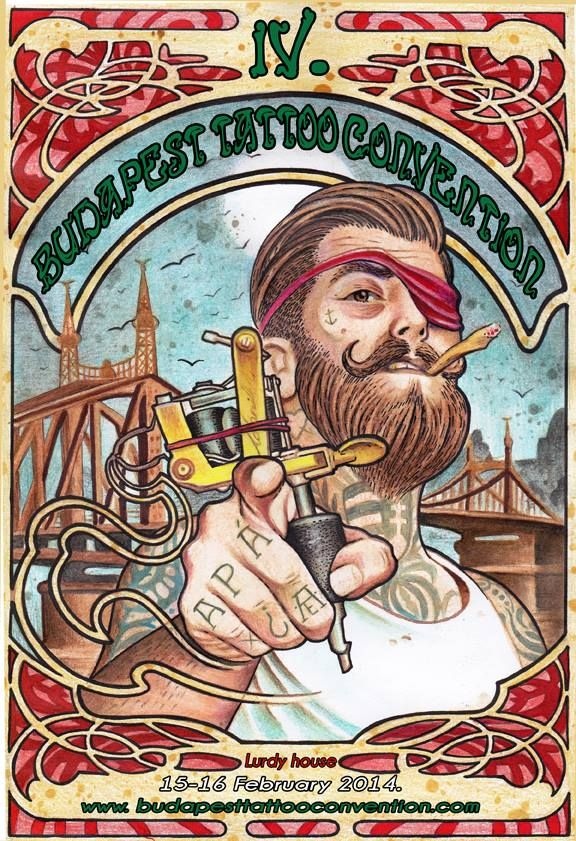 Budapest Tattoo Convention | World Tattoo Events #tattoo #tatts #ink #inked #vagabondco #whatson #worldtattooevents