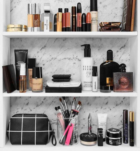 BEAUTY: Makeup U0026 Skincare Storage Ideas. Makeup OrganizationMakeup StorageHair  Product ...
