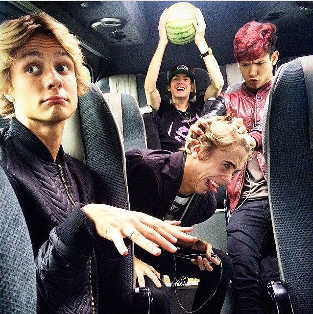 Look at Olly holding that melon