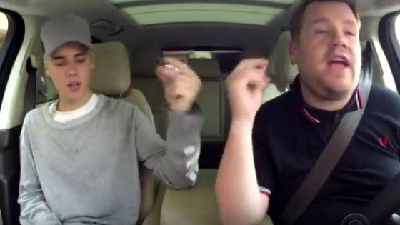 Celebrities sing Christmas Carpool Karaoke - 'Joy to the World'   http://gracevine.christiantoday.com/video/celebrities-sing-christmas-carpool-karaoke-joy-to-the-world-5558