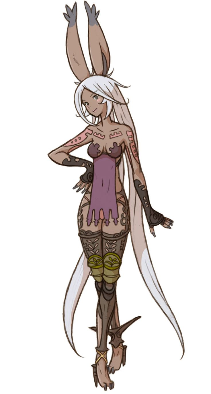 Viera Class - Characters & Art - Final Fantasy Tactics A2: Grimoire of the Rift