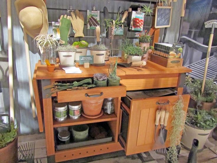 188 Best Potting Benches Images On Pinterest Potting
