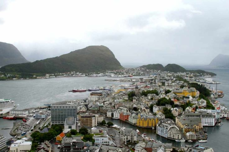 Alesund, Norway on our Crystal Serenity Cruise