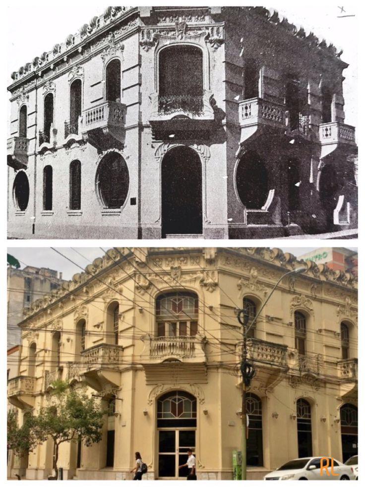 Palacete de Pedro Duarte .Pte Franco y O'Leary de Asunción-Paraguay