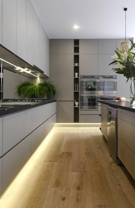Die besten 25+ Led schrank licht Ideen auf Pinterest - Led Einbauleuchten Küche