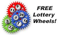 Gail Howard's free lottery wheels, use to make lotto number combinations with a minimum win guarantee!