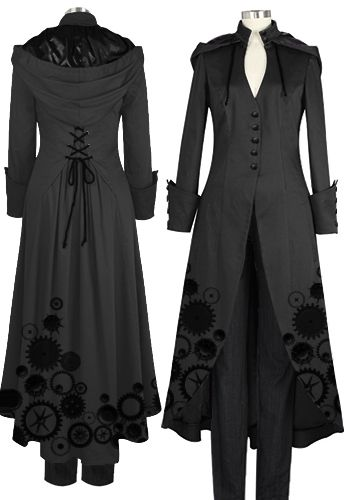 Victorian Steampunk Coat by Amber Middaugh