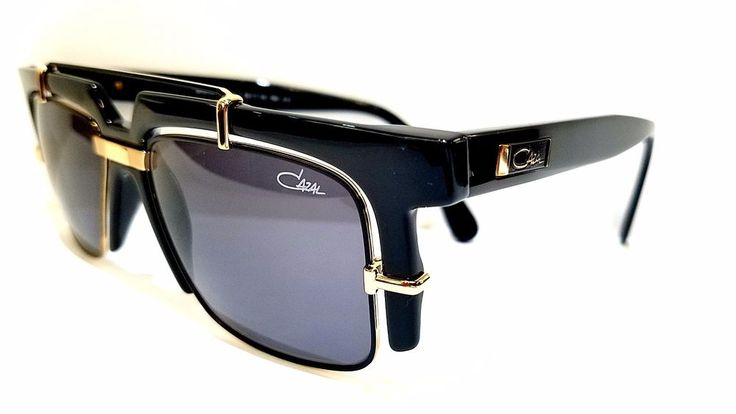 Authentic Cazal Sunglasses CZ 873 COL 1 Made in Germany #CAZAL #Square