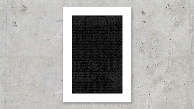Digital Black #digital #computer #black #virus #program #code #art