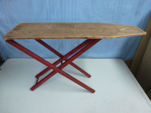 Vintage Antique 1920s Childrens Folding Wood Ironing Board. - 45 Best Ironing Boards & Uses For Them Images On Pinterest Wood