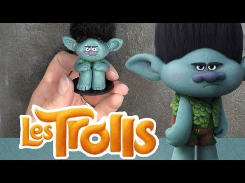 How to make Poppy from Dreamworks Trolls - Cake Decorating Tutorial - YouTube