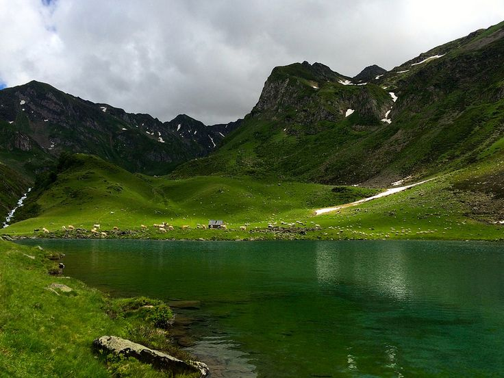Lac D'Ourrec in the French Pyrenees.