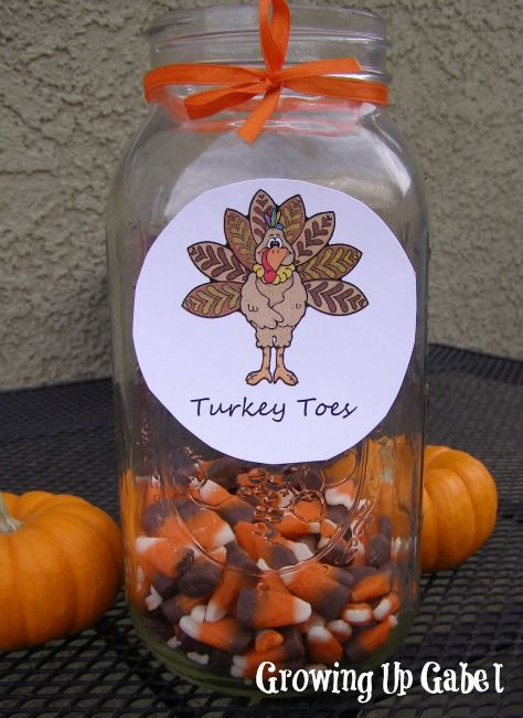 Thanksgiving Craft: Turkey Toes #Thanksgiving #crafts
