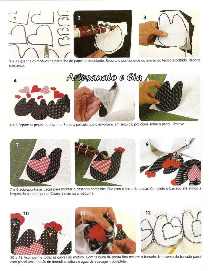 Blog de artesanato em geral , com passo a passo , com fotos e gratuito.