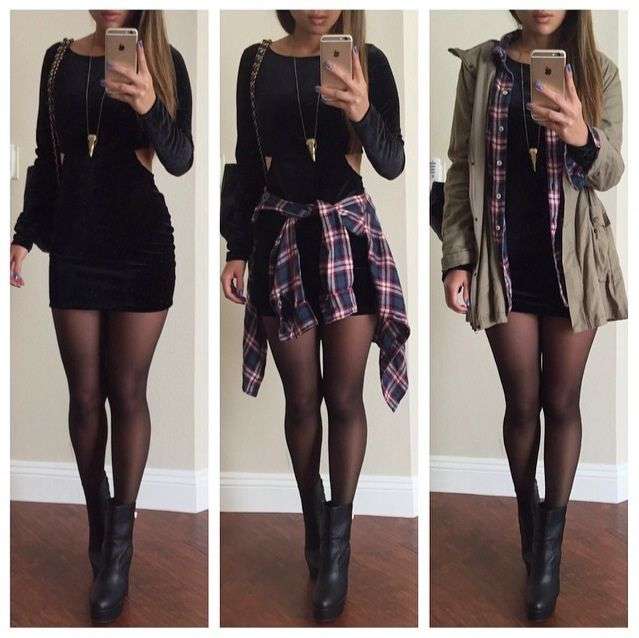Perfect outfit to make it through those cold to hot to cold days