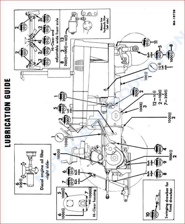 Case Ih 686 Gear Drive 86 Hydro Tractor Operators Manual Case Ih Gear Drive Tractors