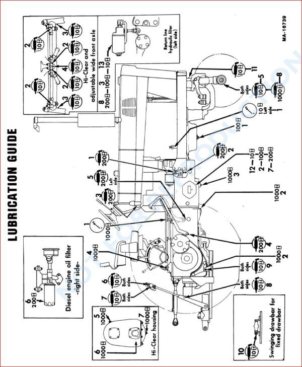 CASE IH 686 GEAR DRIVE & 86 HYDRO TRACTOR OPERATORS MANUAL
