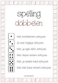 Meer dan 1000 idee n over woorden spellen op pinterest spellingsoefening spellen en - Werkblad eindigen ...