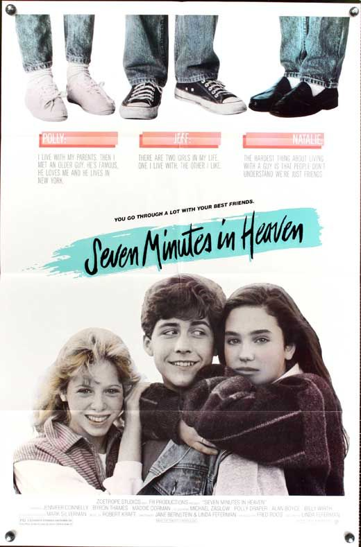 1985's Seven Minutes in Heaven omg I totally remember this movie loved it