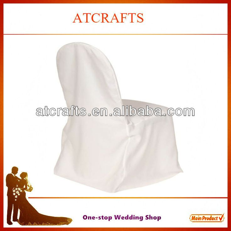 cheap banquet polyester chair covers, white chair covers